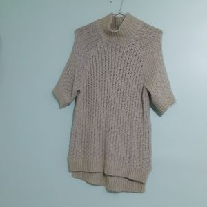 ALPACA WOOL MOHAIR KNIT JUMPER BLOUSE